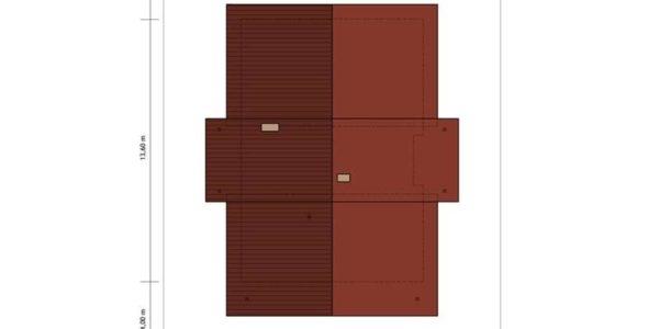 Dimensiuni casa cu 4 camere si dependinte