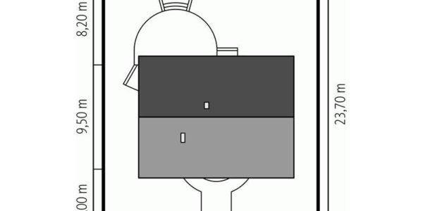 Dimensiuni teren casa cu 4 camere