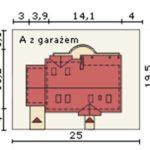 Dimensiuni teren casa cu 4 camere si 2 bai