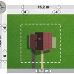 Dimensiuni teren casa cu P+M cu 4 camere