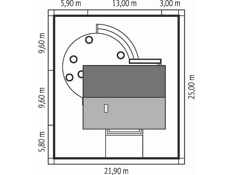 Dimensiuni teren casa cu terasa