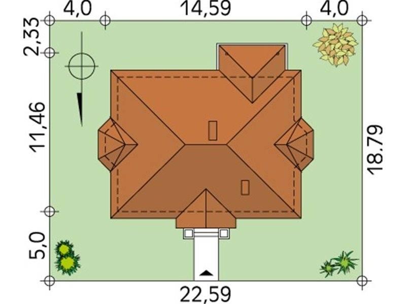 Dimensiuni teren casa familiala cu 4 camere