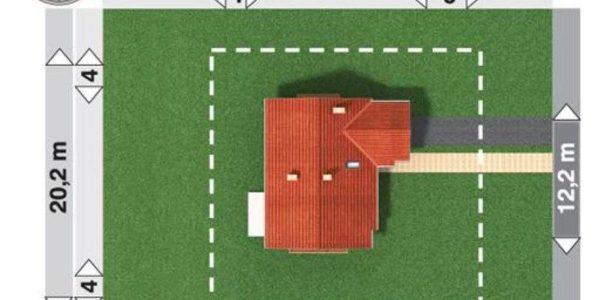 Dimensiuni teren casa mica cu mansarda si garaj