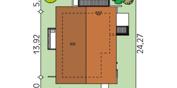 Dimensiuni teren casa moderna