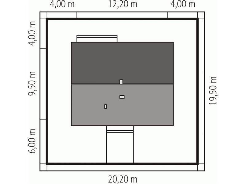 Dimensiuni teren casa parter cu 3 camere