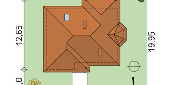 Dimensiuni teren casa parter cu 4 camere