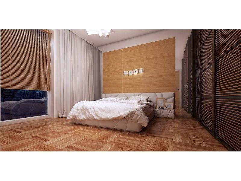 Dormitor matrimonial cu decor simlu