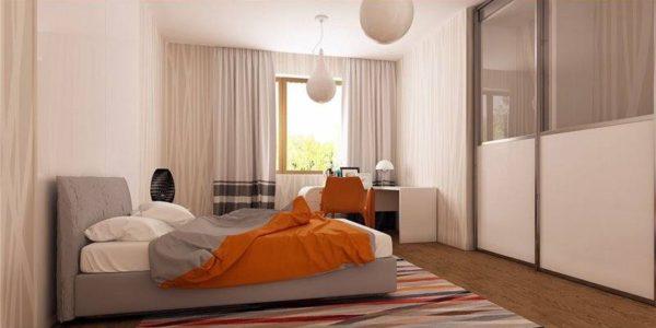 Dormitor modern casa