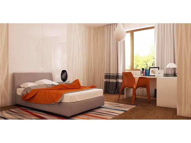 Dormitor spatios casa mica