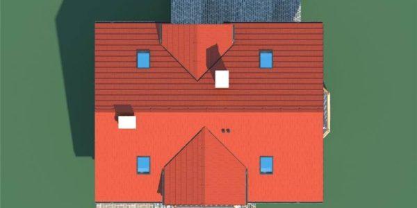 Forma casa mica cu mansarda