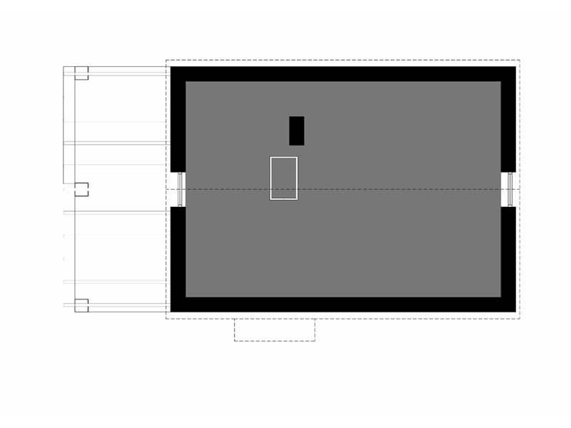 Plan mansarda casa cu acoperis inalt
