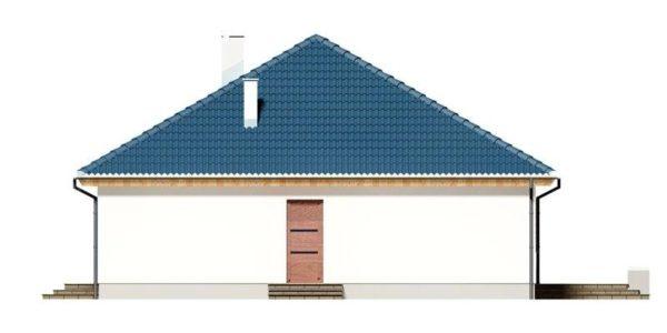 Vedere dreapta casa eleganta cu 4 camere