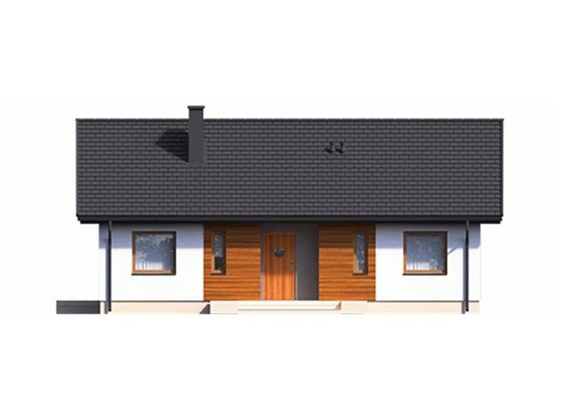 Vedere fata casa cu 4 dormitoare