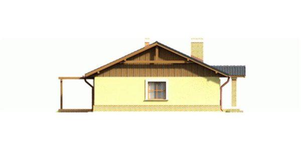 Vedere stanga casa mica fara etaj